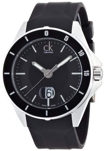 Calvin Klein Herren-Armbanduhr Analog Quarz Kautschuk K2W21XD1