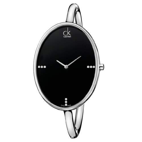CALVIN KLEIN Uhr Damenuhr Armbanduhr EdelstahlSilber SARTORIALLY K3D2S11S