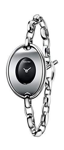 CK Damen-Armbanduhr XS Analog Quarz Edelstahl K3H2M121