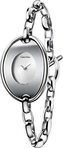 CK Damen-Armbanduhr XS Analog Quarz Edelstahl K3H2M126