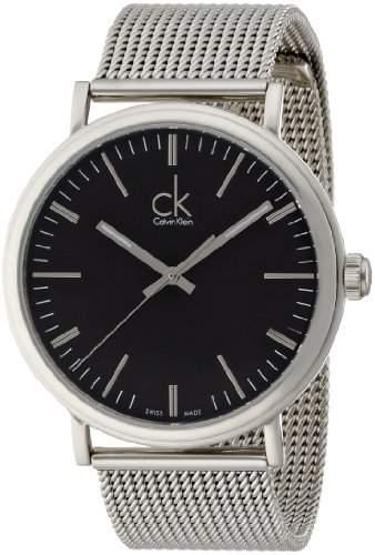 Calvin Klein Herren-Armbanduhr Analog Quarz Edelstahl K3W21121
