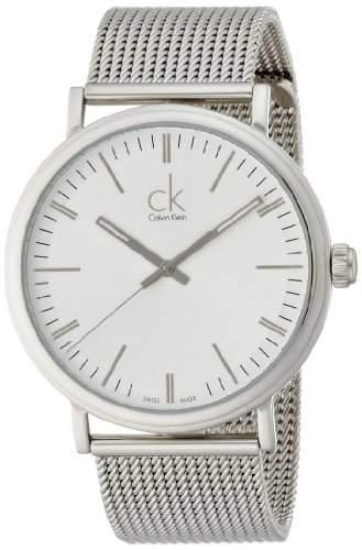 Calvin Klein Herren-Armbanduhr Analog Quarz Edelstahl K3W21126