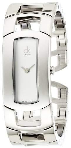 Calvin Klein Damen-Armbanduhr Analog Quarz Edelstahl K3Y2S116