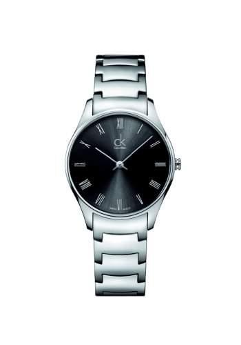 Calvin Klein Unisex-Armbanduhr Analog Quarz Edelstahl K4D2214Y