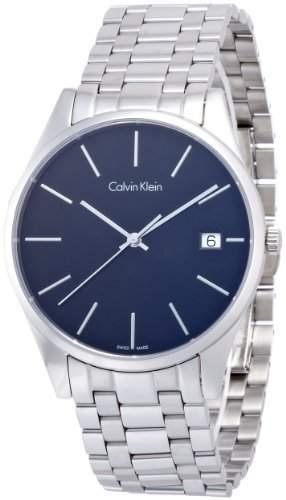 Calvin Klein Herren-Armbanduhr Analog Quarz Edelstahl K4N21141