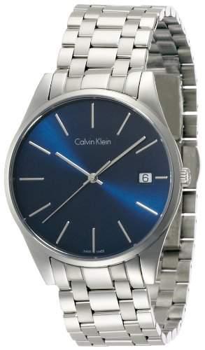 Calvin Klein Herren-Armbanduhr Analog Quarz Edelstahl K4N2114N