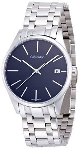 Calvin Klein Herren-Armbanduhr Analog Quarz Edelstahl K4N23141
