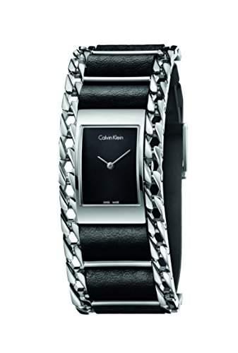 CK Damen-Armbanduhr Analog Quarz Edelstahl K4R231C1