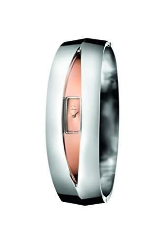 CK Damen-Armbanduhr XS Analog Quarz Edelstahl K4T2MB1A