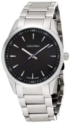 Calvin Klein Herren-Armbanduhr Analog Quarz Edelstahl K5A31141