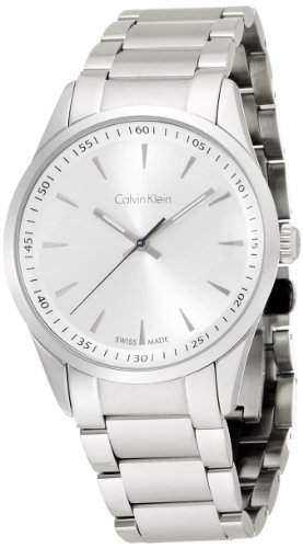 Calvin Klein Herren-Armbanduhr Analog Quarz Edelstahl K5A31146