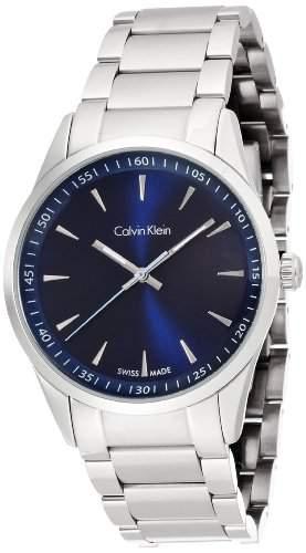Calvin Klein Herren-Armbanduhr Analog Quarz Edelstahl K5A3114N