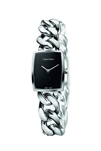 CK Damen-Armbanduhr XS Analog Quarz Edelstahl K5D2L121