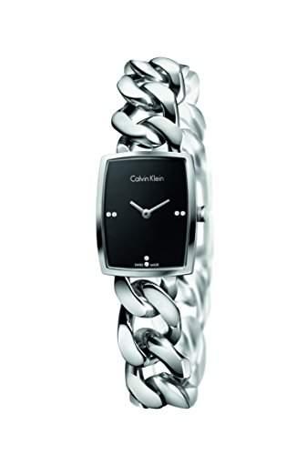 CK Damen-Armbanduhr XS Analog Quarz Edelstahl K5D2S12T