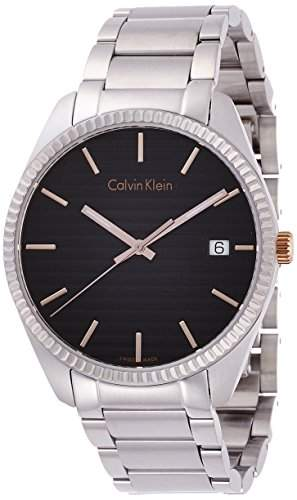 Calvin Klein Herren-Armbanduhr Analog Quarz Edelstahl K5R31B41