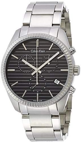 Calvin Klein Herren-Armbanduhr Chronograph Quarz Edelstahl K5R37141