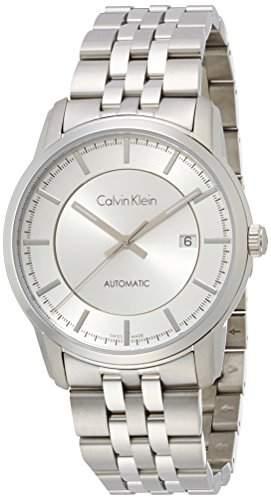 Calvin Klein Herren-Armbanduhr Analog Automatik Edelstahl K5S34146