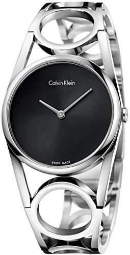 Calvin Klein Round M Damenuhr K5U2M141