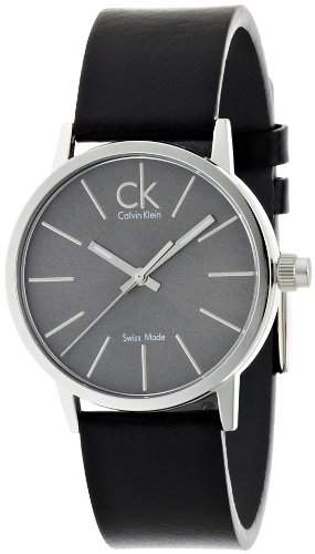Calvin Klein Herren-Armbanduhr Postminimal Leather K7622207