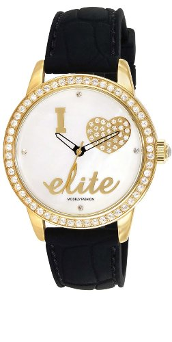 Elite Analog White Dial Womens Watch E52929 001