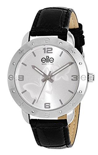 Elite Models Fashion Damen Armbanduhr Analog Quarz Leder E54042 201