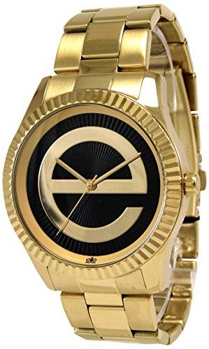 Elite Models Fashion Damen Armbanduhr Analog Quarz Edelstahl E54334G 103