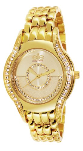 Elite ModelsE53524G 102 Fashion Alyce Quarz analog Stahl goldfarben