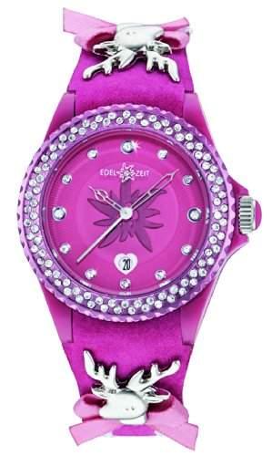 Damen-Armbanduhr EDELKITZ Analog Quarz Leder EZDP02