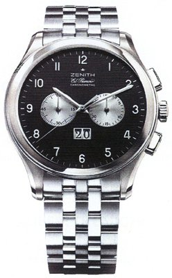 Zenith Class Herren Armbanduhr 03 0520 4010 21 m520