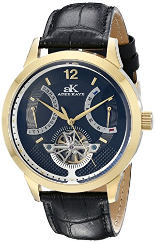 Adee Kaye Herren ak2241 mg BK PROSPERE Analog Display Automatische selbst wind black watch