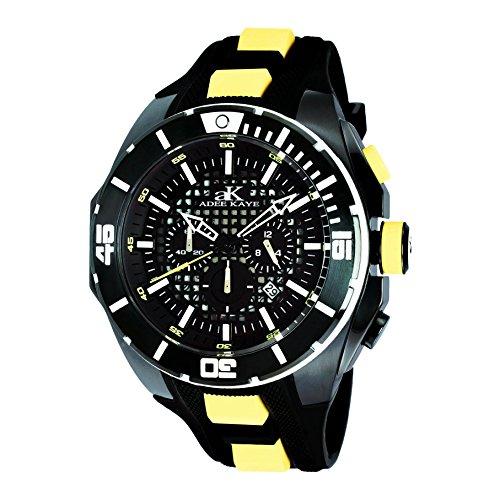 Adee Kaye Grid Multi Color Silizium Armband Uhr AK6367 YL