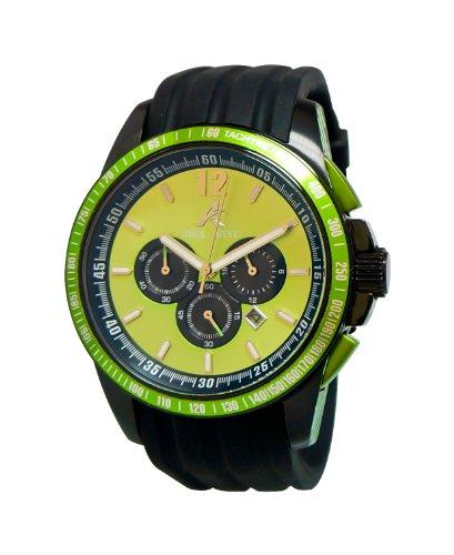 Adee Kaye Terrace Schwarz Silizium Armband Uhr AK7141 GN