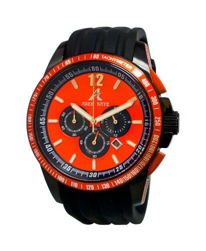 Adee Kaye Terrace Schwarz Silizium Armband Uhr AK7141 RD OR