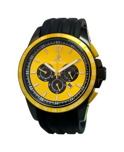 Adee Kaye Terrace Schwarz Silizium Armband Uhr AK7141 YL