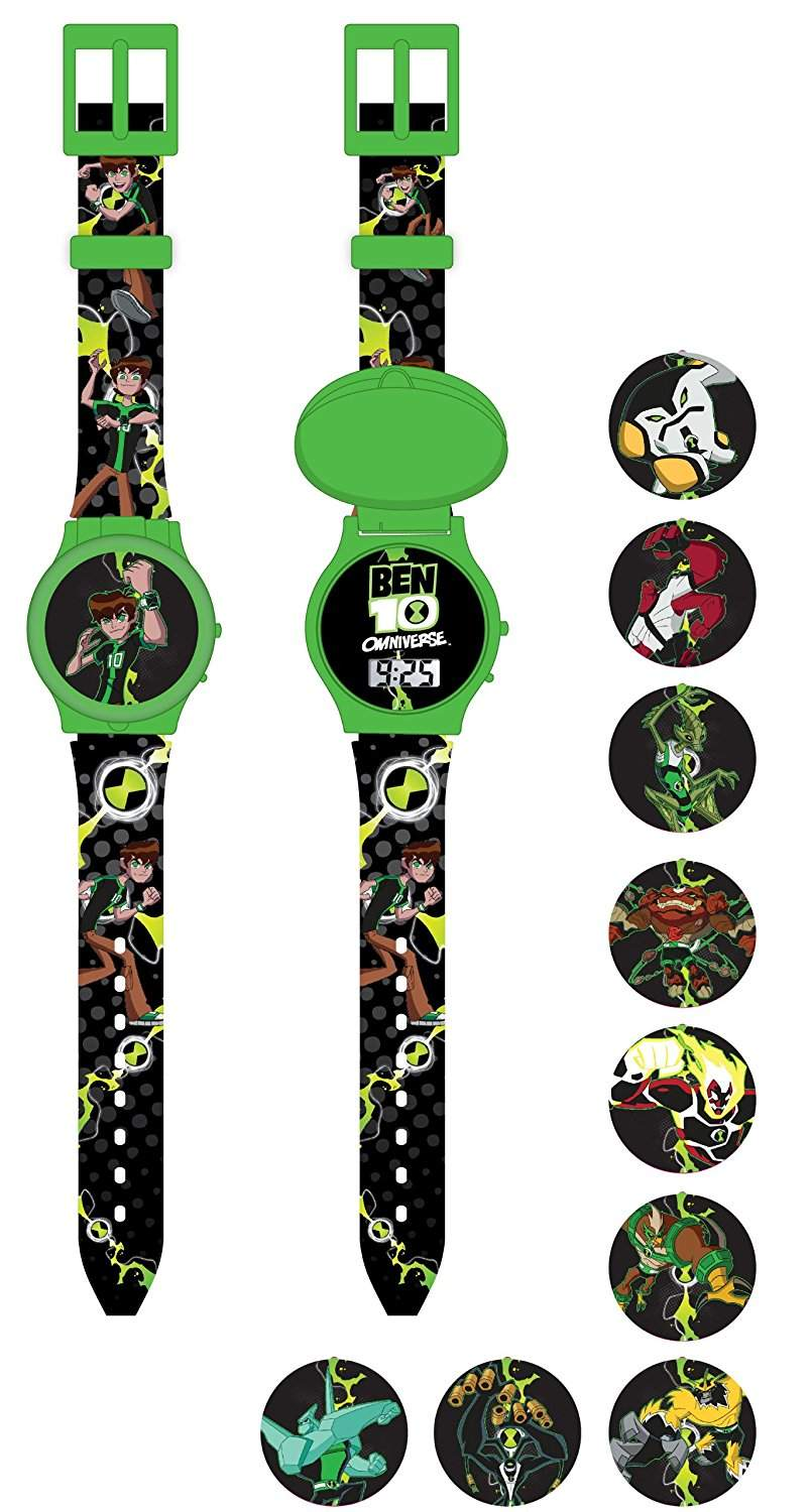 Ben 10 Kinder-Armbanduhr Digital Quarz BEN2