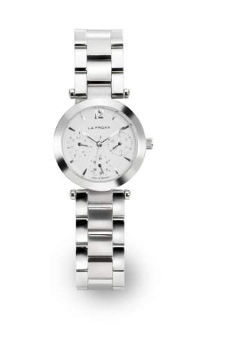 LA FROXX CUTIE Damen Armbanduhr Multifunktion Quartz Edelstahl 74544091