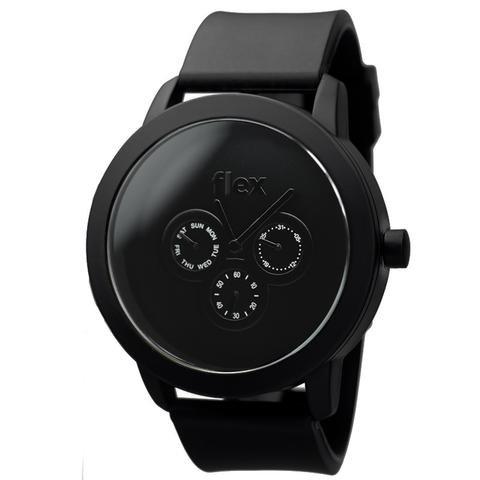 Armbanduhr Flexwatches Black Sport