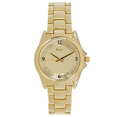 Armbanduhr Flexwatches Gold Crystal