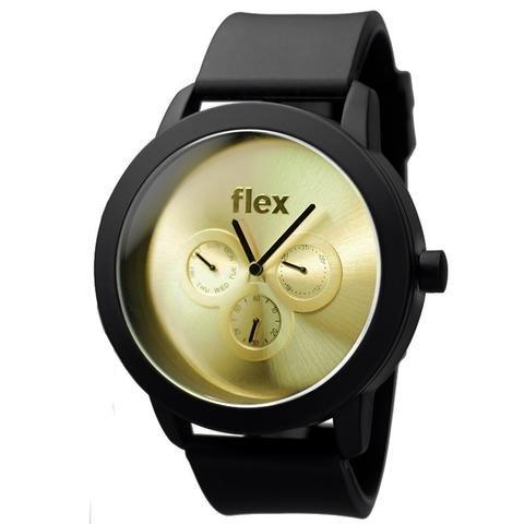 Armbanduhr Flexwatches Gold Sport