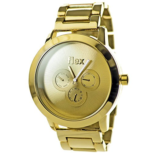 Armbanduhr Flexwatches Gold Steel