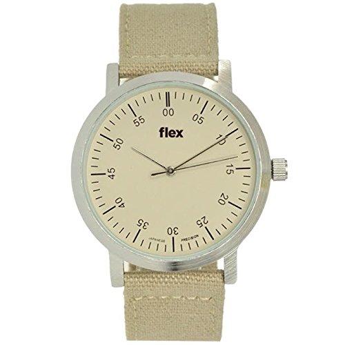 Armbanduhr Flexwatches Khaki Canvas