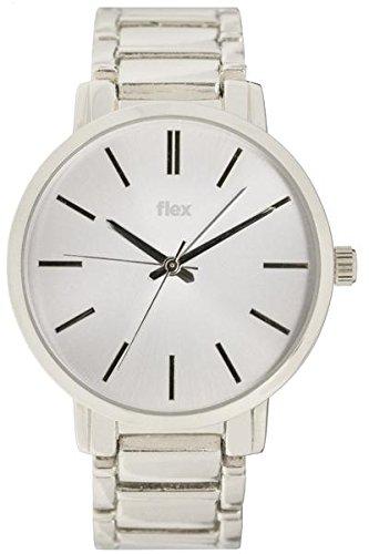 Armbanduhr Flexwatches Silver Hadley
