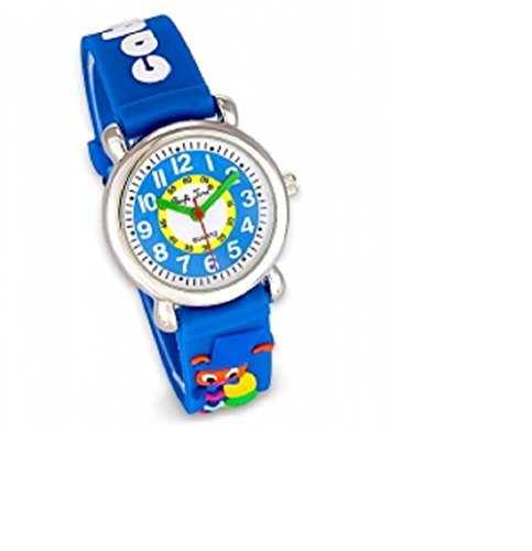 Pacific Time Raupe Analog Quarz blau 20787 Design