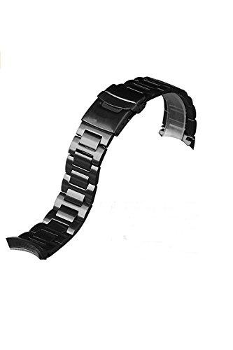 BOS Herren Armbanduhr Edelstahl Band Extra links fuer 9008
