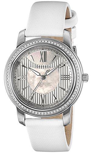Tiffany Co Uhr Mark Silber Perle weiss Zifferblatt Diamant z0046 17 10b91 a40 a