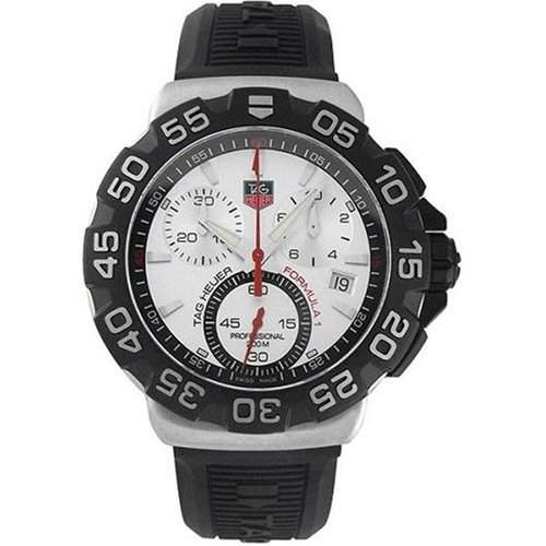 TAG HEUER FORMULA 1 MENS STAINLESS STEEL CASE CHRONOGRAPH UHR CAH1111BT0714