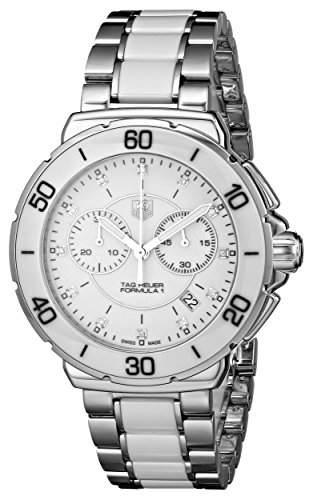 TAG Heuer Damen-Armbanduhr Chronograph Quarz Edelstahl CAH1211BA0863