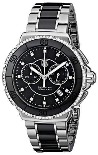 TAG Heuer Damen-Armbanduhr Chronograph Quarz Edelstahl CAH1212BA0862