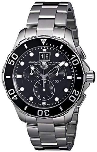 TAG Heuer Herren-Armbanduhr Chronograph Quarz Edelstahl CAN1010BA0821