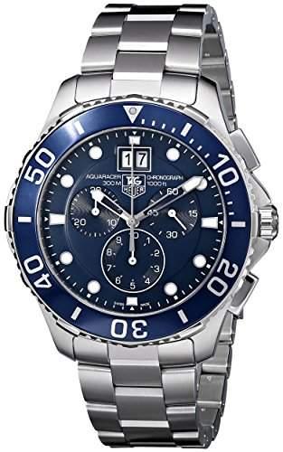 TAG Heuer Aquaracer Chronograph Quartz Grande Date CAN1011BA0821